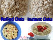 Healthy Gluten free rolled oats