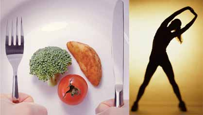 Dieting is better or exercising
