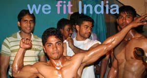 Bodybuilding event in East Bangalore