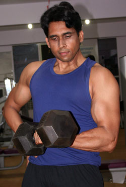 Mayank Wefitindia at WeFI Gym