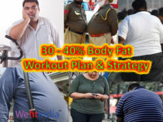 lose very high body fat workout plan and strategy